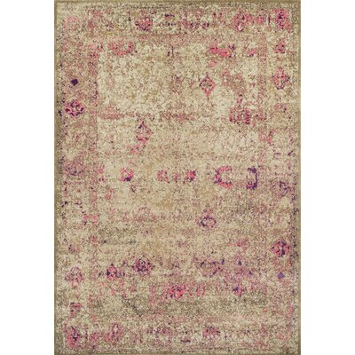 Forsythia Pink Area Rug Rug Size: Rectangle 33 x 51