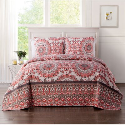 Bernard Quilt Set Size: Full/Queen