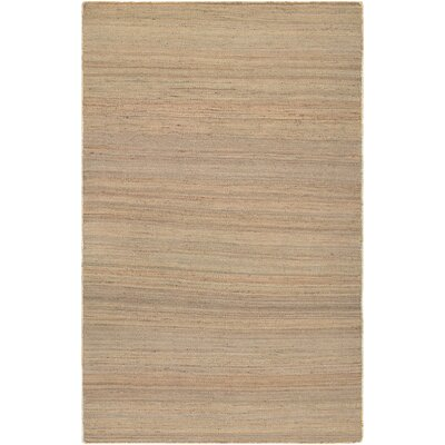 Uhlig Hand Woven Cotton Natural Area Rug Rug Size: Rectangle 35 x 55