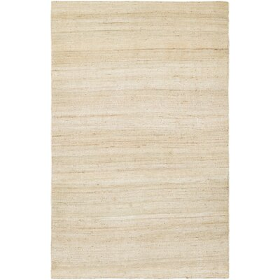 Uhlig Hand Woven Cotton Sand Area Rug Rug Size: Rectangle 96 x 136