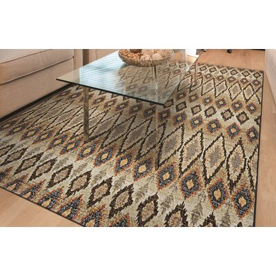Sultan Brown Area Rug Rug Size: 710 x 112