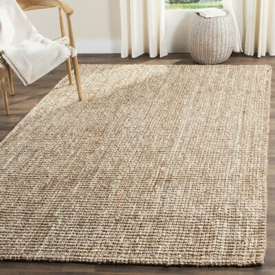 Mandu Hand-Woven Brown Area Rug Rug Size: Runner 26 x 16
