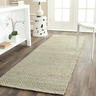 Emalie Hand-Woven Beige Area Rug Rug Size: Rectangle 5 x 8