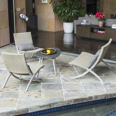 Anessa 4 Piece Lounge Seating Group Set