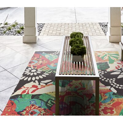 Florus Hand Woven Indoor/Outdoor Area Rug Rug Size: 2 x 3