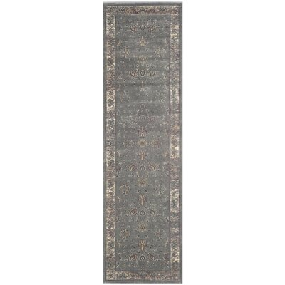 Makenna Grey/Multi Area Rug Rug Size: Runner 22 x 10