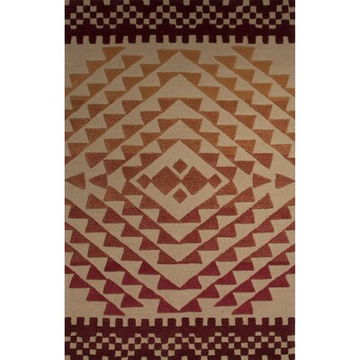 Gunnar Wool Hand Tufted Pebble Area Rug Rug Size: 2 x 3