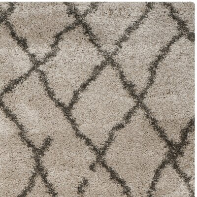 Messiah Taupe/Grey Area Rug Rug Size: 8 x 10