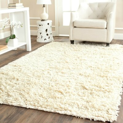 Messiah Ivory Area Rug Rug Size: Rectangle 3 x 5