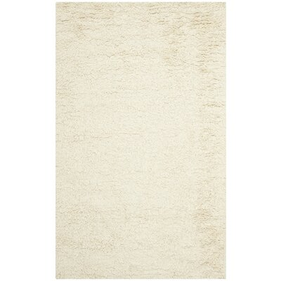 Messiah Ivory Area Rug Rug Size: Rectangle 86 x 116