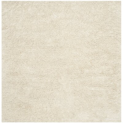 Messiah Ivory Area Rug Rug Size: Square 8