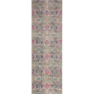 Blackwell Gray Area Rug Rug Size: Runner 27 x 8