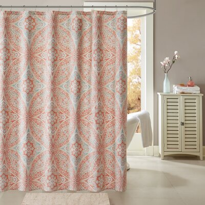 Diandre Printed Shower Curtain