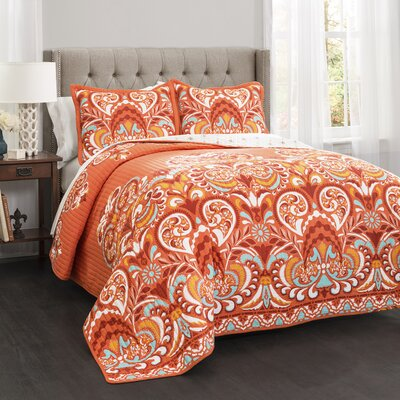 Bently 3 Piece Quilt Set Size: King