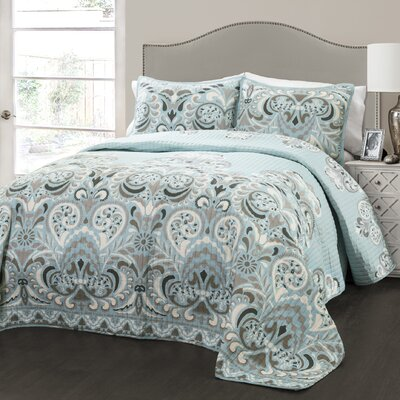 Bently 3 Piece Quilt Set Size: Full/Queen