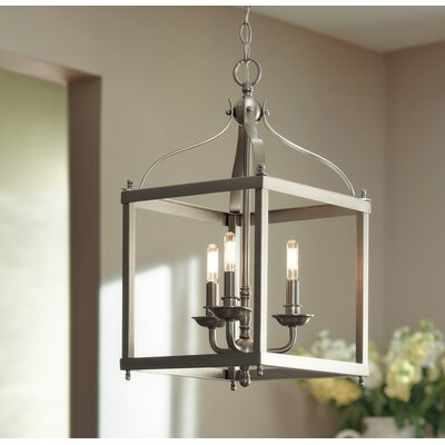Celestine 3-Light Foyer Pendant Finish: Brushed Nickel