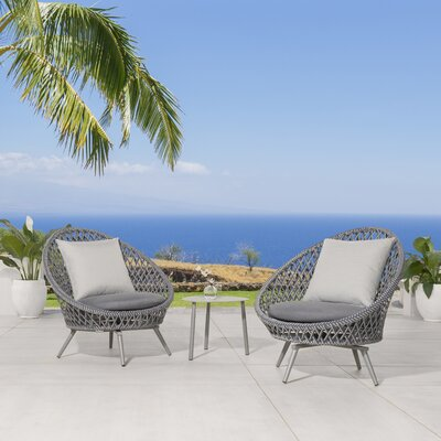 Malizia 3 Piece Deep Seating Group