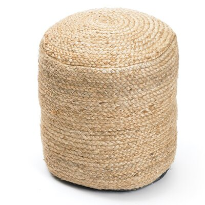 Damion Braided Hemp Pouf
