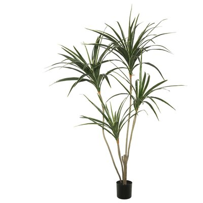 Artificial Yucca Foliage Tree in Pot