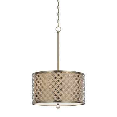 Duncan 3-Light Drum Pendant