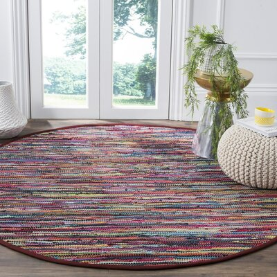 Samaniego Hand-Woven Area Rug Rug Size: Rectangle 4 x 6