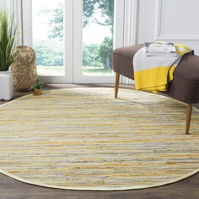 Jaylon Hand-Woven Area Rug Rug Size: Rectangle 4 x 6