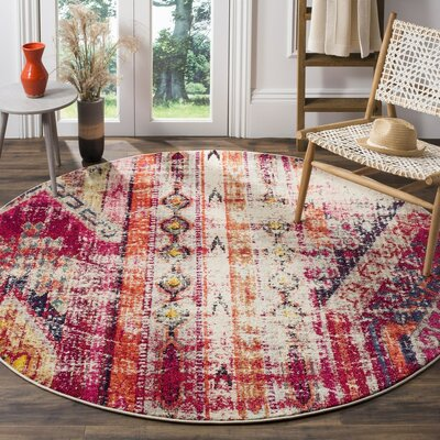 Elston Tibetan Pink Area Rug Rug Size: Rectangle 10 x 14