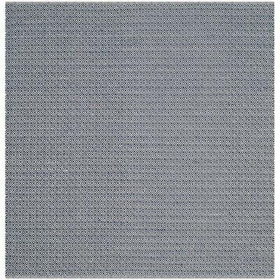 Clignancourt Ivory/Navy Area Rug Rug Size: Square 6