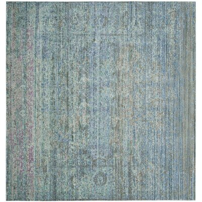 Shane Blue/Gray Area Rug Rug Size: Square 67