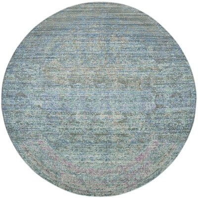 Shane Blue/Gray Area Rug Rug Size: Rectangle 9 x 12