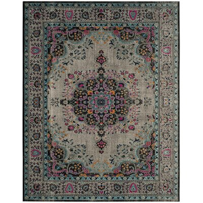 Phillip Light Gray Area Rug Rug Size: 8 x 10