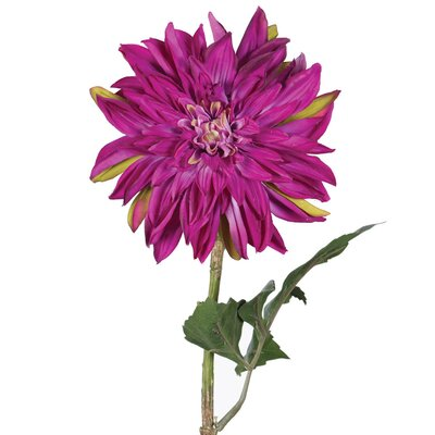 Artificial Dahlia Stem Flower Color: Purple