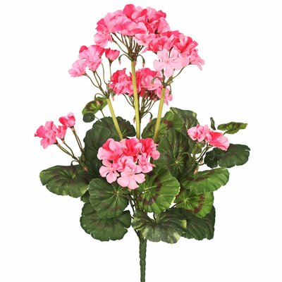 Artificial Geranium Flowers Flower Color: Pink
