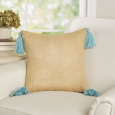 Avalon Burlap Throw Pillow