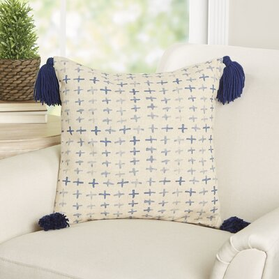 Celine Batik Cross Throw Pillow