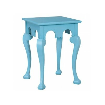 Osvaldo Cabriole End Table Finish: Aqua