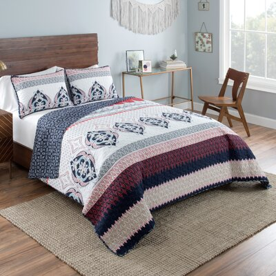 Maxim Reversible Quilt Set Size: King