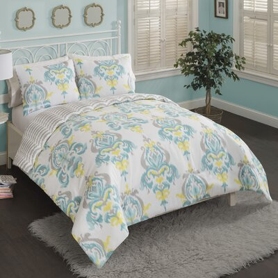 Naniouni Reversible Comforter Set Size: Twin XL