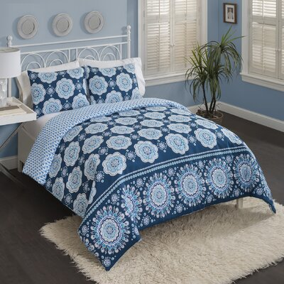 Zackery Reversible Comforter Set Size: Twin XL