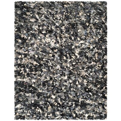 Messiah Black & Gray Area Rug Rug Size: 8 x 10