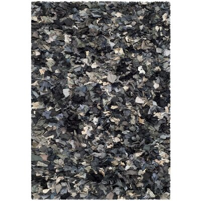 Messiah Hand-Tufted Gray/Brown/Black Area Rug Rug Size: Rectangle 4 x 6