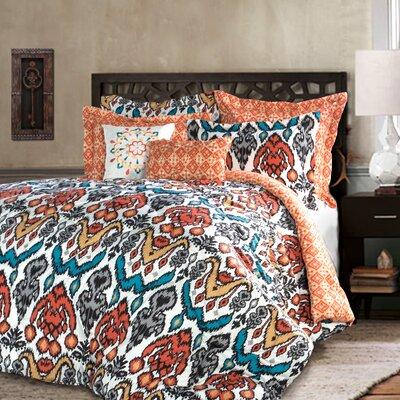 Capellen 7 Piece Reversible Comforter Set Size: King