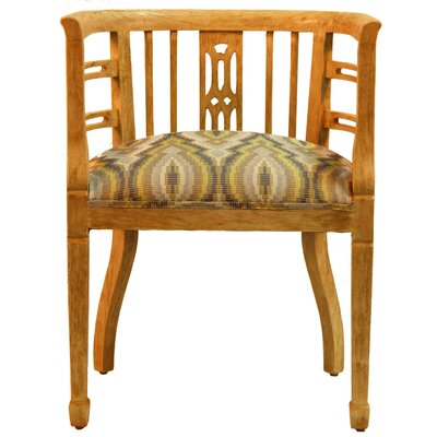 Daxton Barrel Chair Body Fabric: NOTION GUNSMOKE