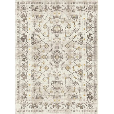 Josue Cream Area Rug Rug Size: Rectangle 76 x 103