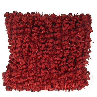 Heerlen Throw Pillow Color: Red