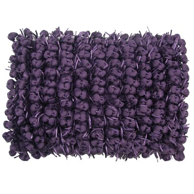 Heerlen Lumbar Pillow Color: Grape, Size: 14 x 20