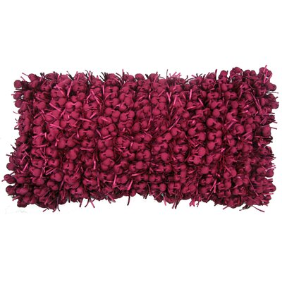 Heerlen Lumbar Pillow Size: 14 x 28, Color: Fuchsia