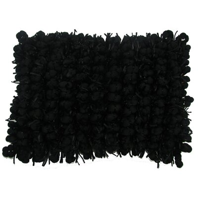 Heerlen Lumbar Pillow Color: Black, Size: 14 x 20