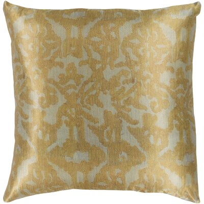 Tatum Polyester Pillow Cover Size: 20 H x 20 W, Color: Sea Foam/Mustard