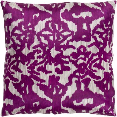 Tatum Polyester Pillow Cover Color: Bright Purple/Camel, Size: 20